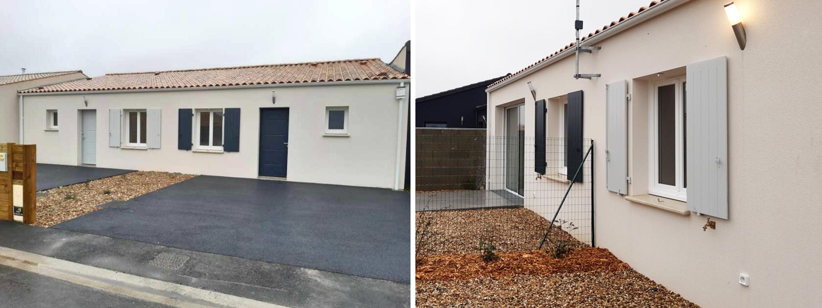 Livraison de 2 maisons à Saint-Jean-de-Liversay